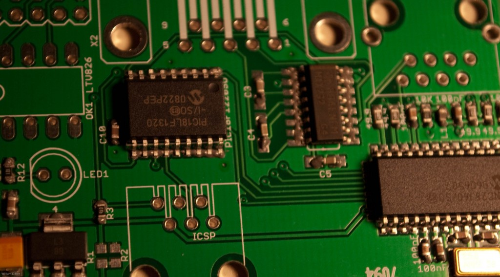 Placing the components on the board