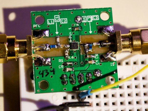 Assembled amplifier