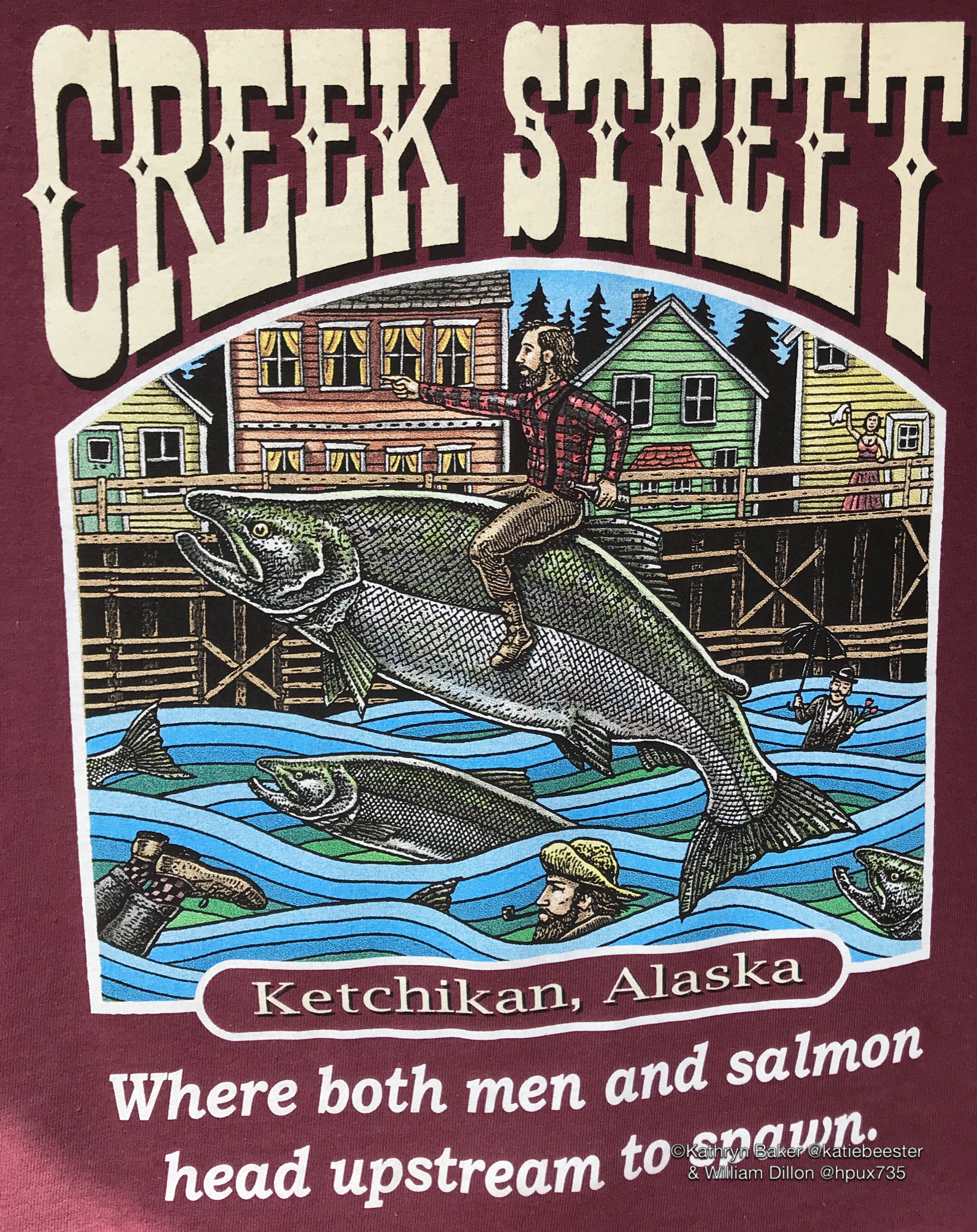 Creek Street shirt