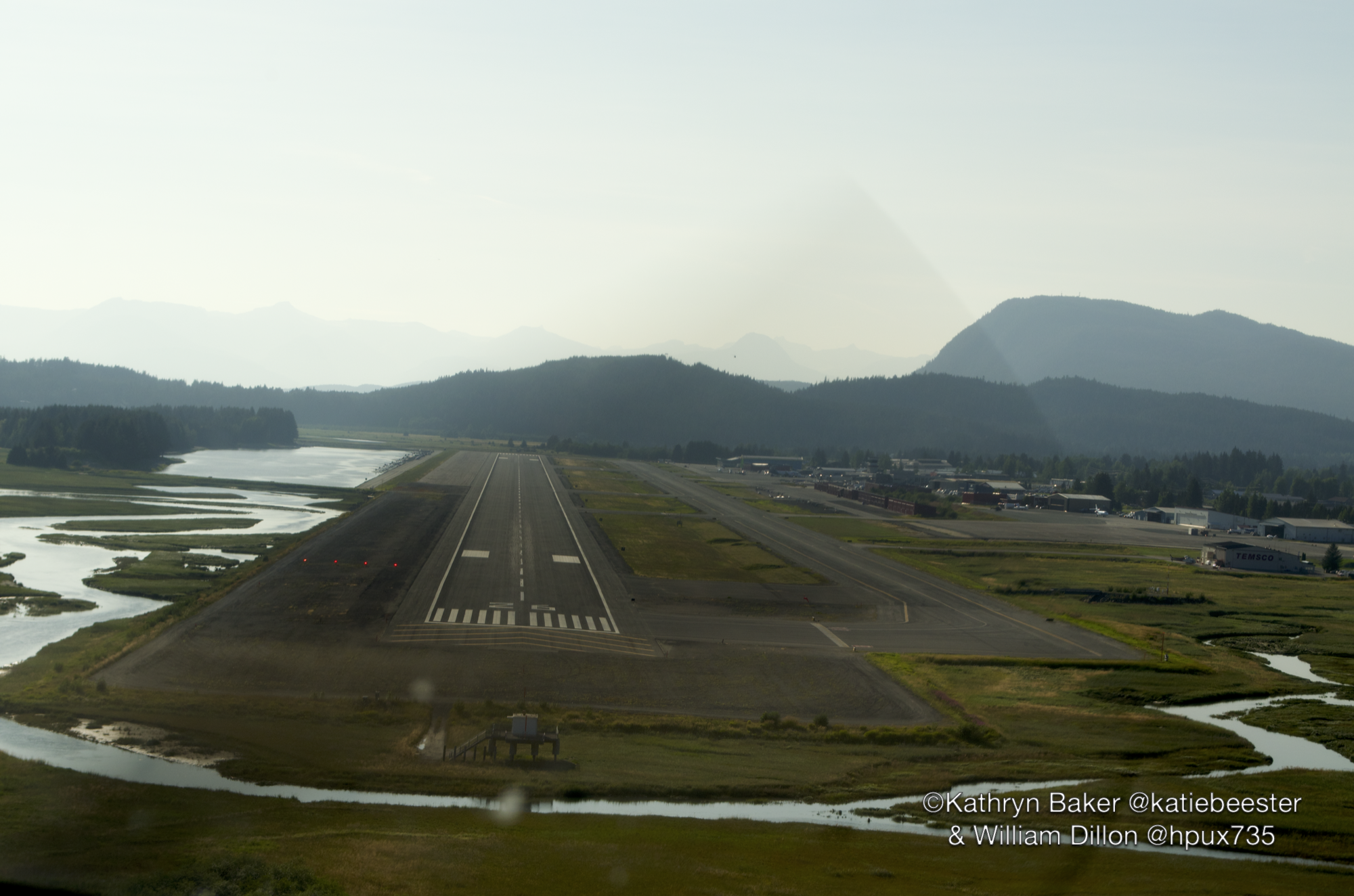 Runway at Juneau