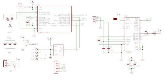 Reflow OvenController Schematic