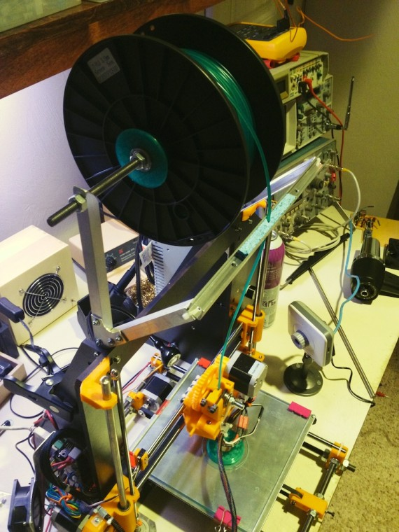 The reprap is all finished.