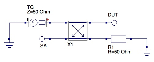 Really cheesy schematic for reflection bridge